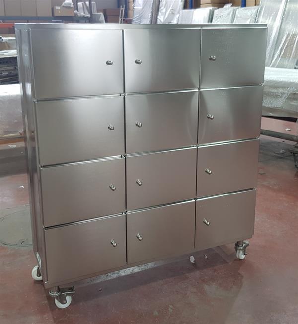 Cleanroom Locker Cabinet