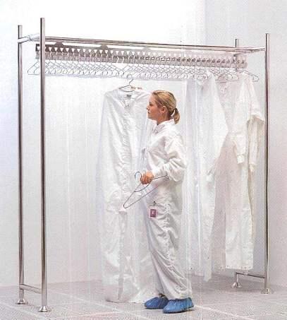 Gownracks - For Full Length Cleanroom Coveralls