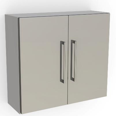 Wall Mount Cabinet - 2 Doors