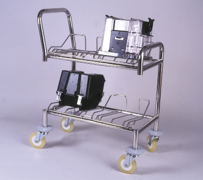 Wafer Transport Cart - 4 nests for 8