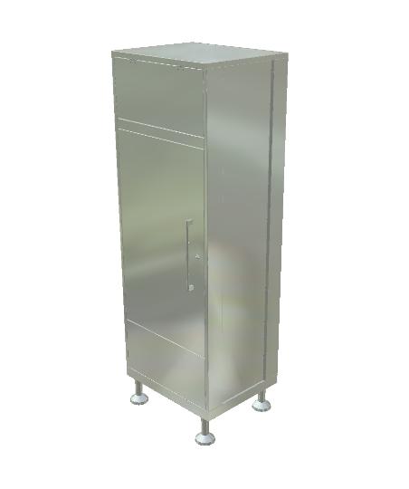 Soiled Garment Cabinet
