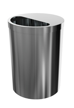 Large Waste Receptacle - Free Stand on casters