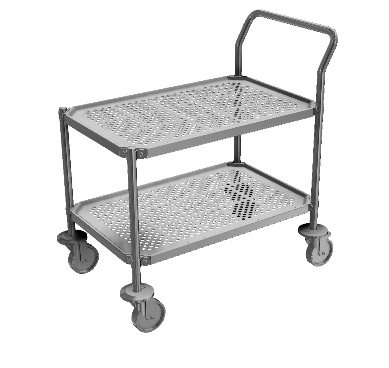 Cleanroom Carts - Perforated