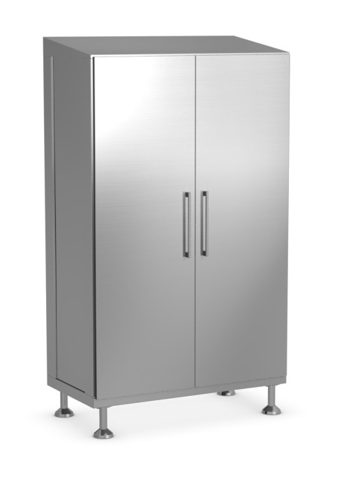 Cleanroom Full Length Cabinets - 2 Doors