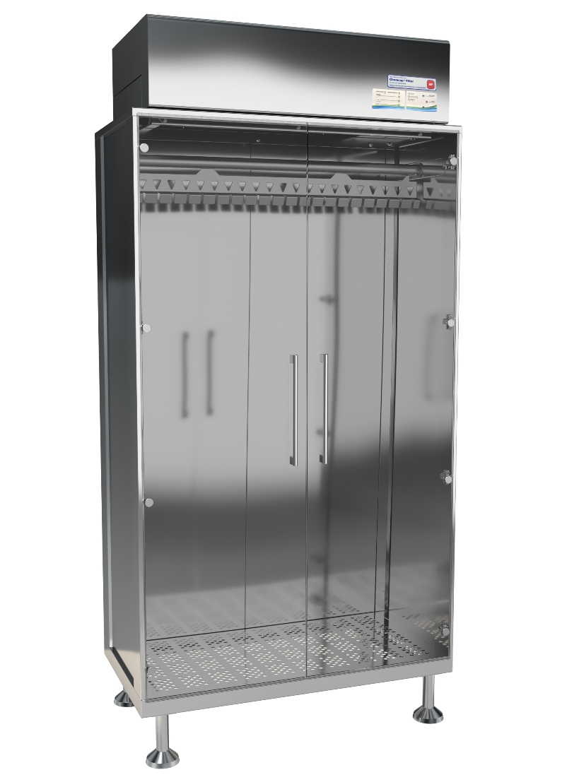 HEPA Filtered Gown Cabinet