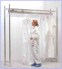 Cleanroom Gowning Furniture